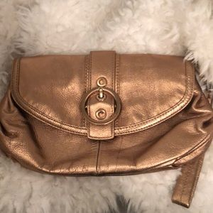 Rose Gold Clutch Wristlet! New!!